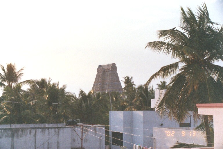 Rajagopuram from the Open Terrace of my house
